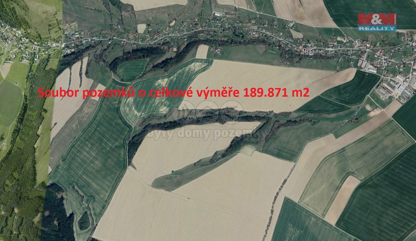 (Meadow, 189871 m2, Svitavy, Radiměř)
