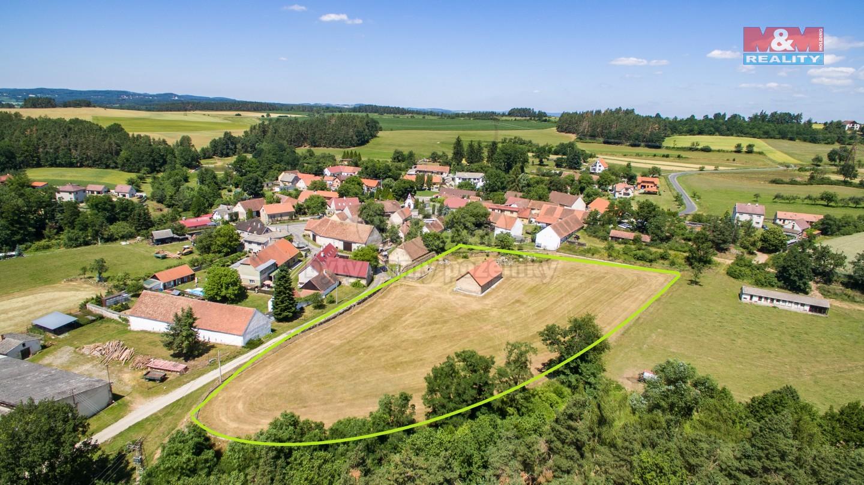 Prodej, chalupa, 8505 m², Slivonice