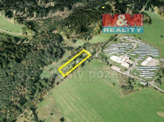 Prodej, pozemek, 2791 m2, Branka u Tachova