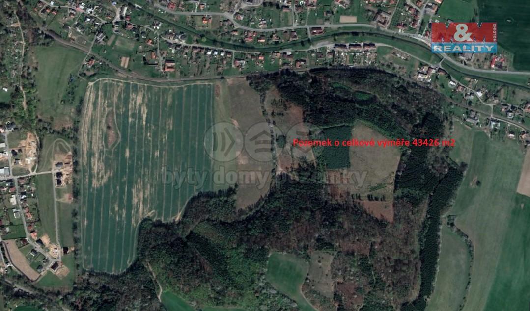 Prodej, louka, 43426 m², Linhartice