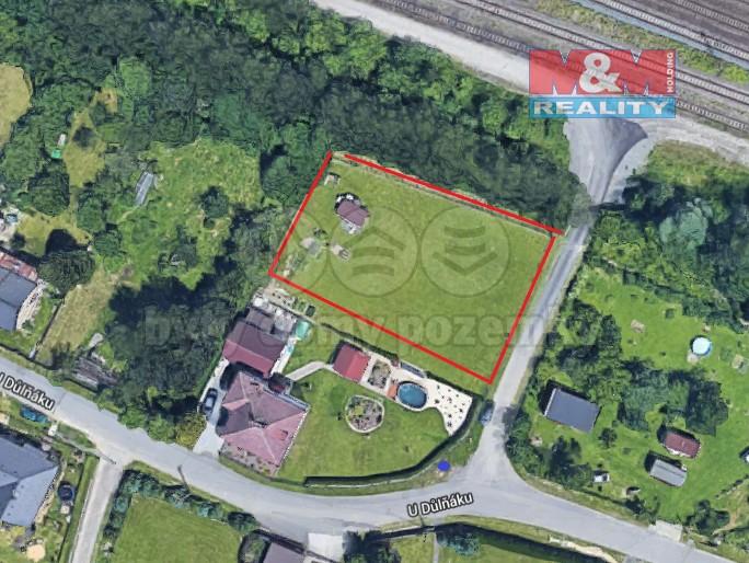 Prodej, zahrada, 1188 m², Ostrava, ul. Nové nádraží