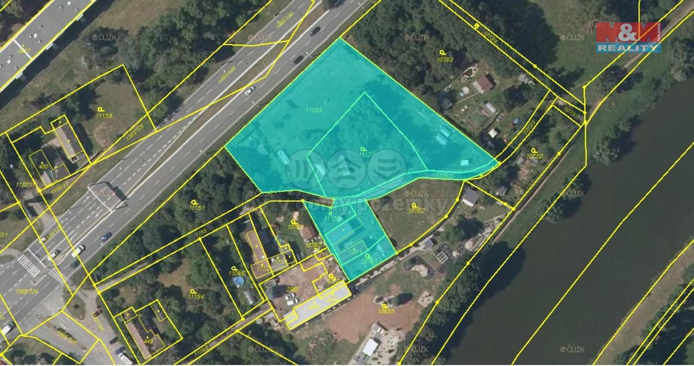 Prodej, pozemek, 5395 m², Hradec Králové, ul. Na Rybárně