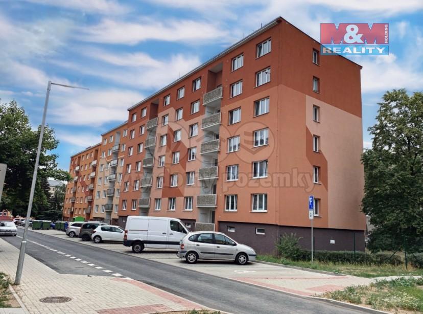 Pronájem, byt 1+1, 35 m2, Chomutov, ul. Arbesova