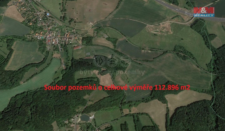 Prodej, pole, 112896 m², Žim
