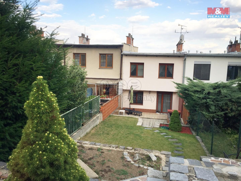 Pohled na dům ze zahrady (Prodej, rodinný dům 5+2, 234 m², Brno, Žabovřesky), foto 1/12