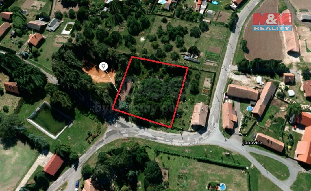 Prodej, stavební parcela, 2173 m², Vinary - Janovice