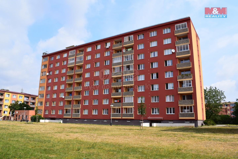 Pronájem, byt 1+1, 37 m², Žatec, ul. Černobýla