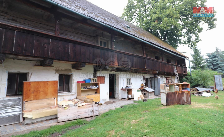 Prodej, chalupa, 1693 m2, Křešice - Sedlec