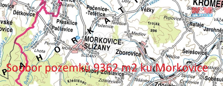 Prodej, pole, 9362 m², Morkovice-Slížany
