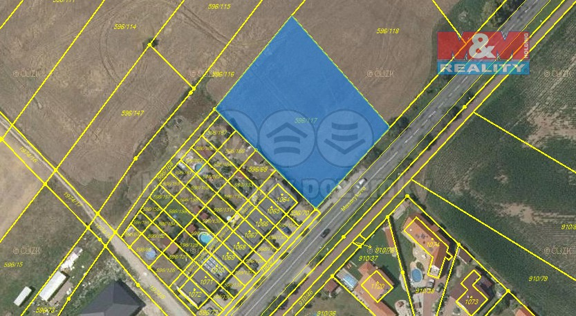 Prodej, pozemek, 2451 m2, Sezemice