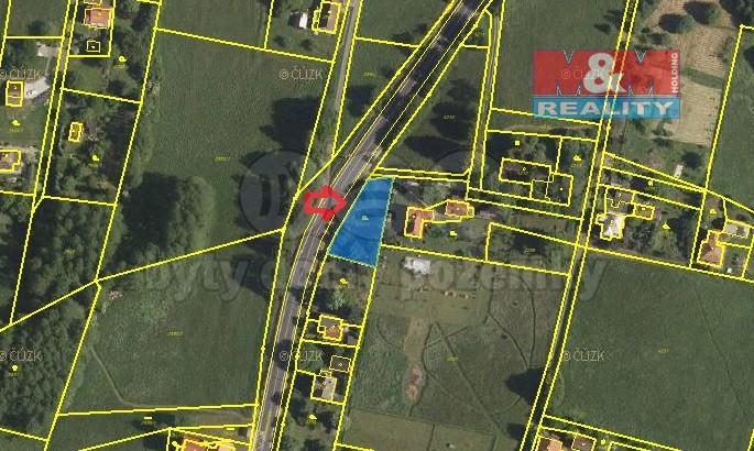 Prodej, stavební pozemek, 760 m², Rychvald