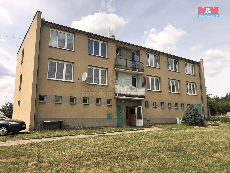 Prodej, byt 2+1, garáž, OV, 52 m2, Bělčice
