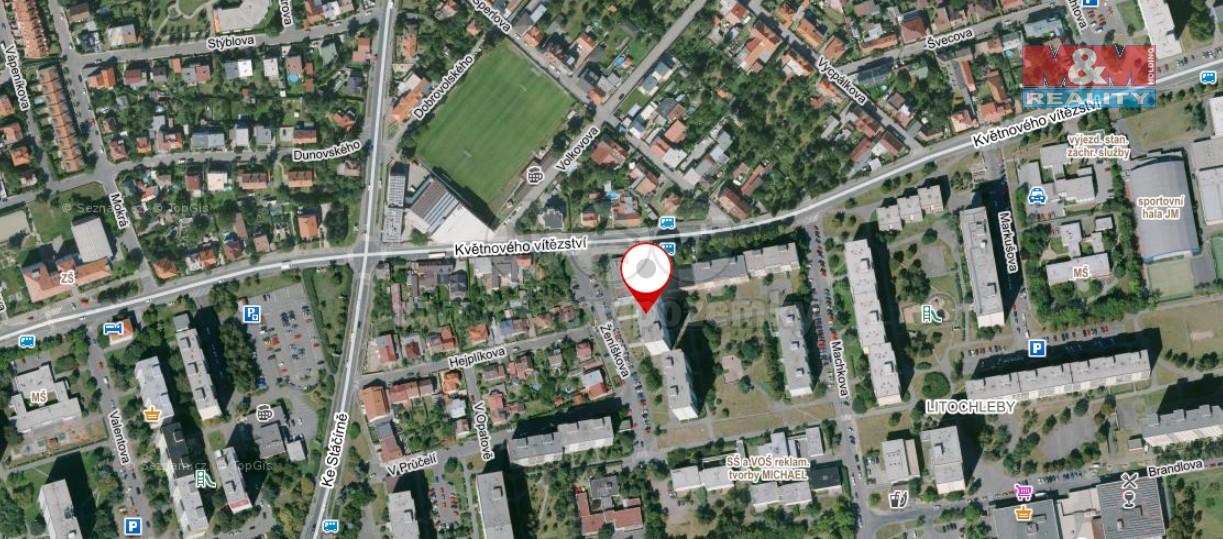 umístění domu na mapě