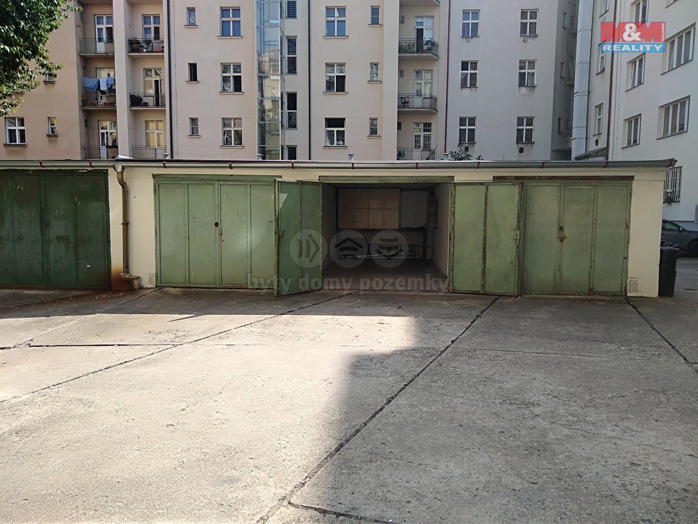 Prodej, garáž, 17 m², Praha, ul. Na hutích