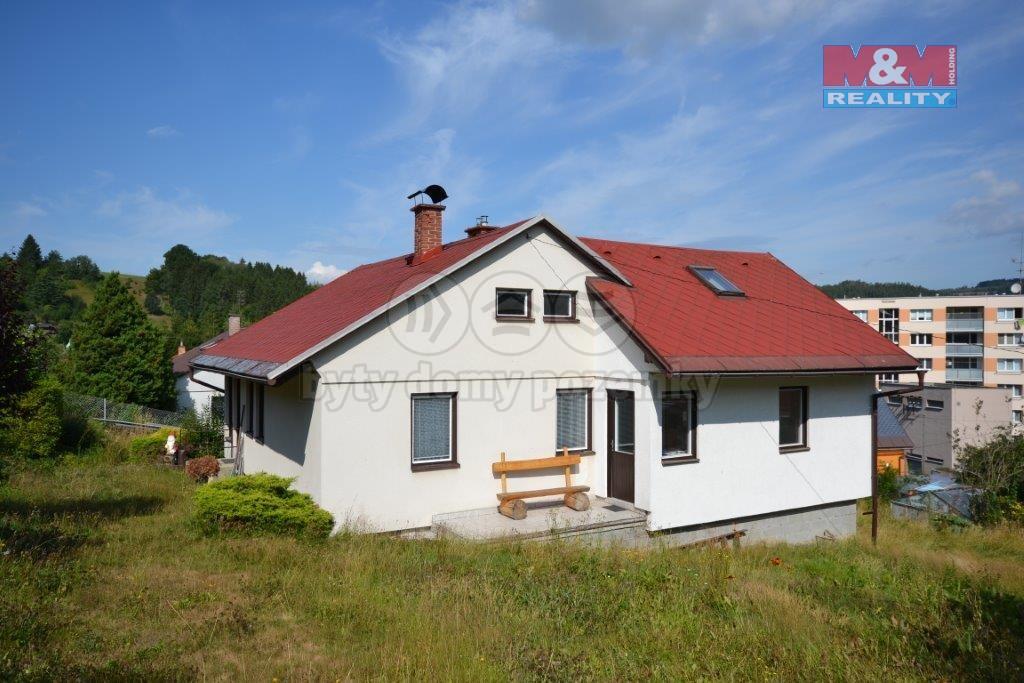 Prodej, rodinný dům, 5+1, 792 m2, Železný Brod, ul. Svahová