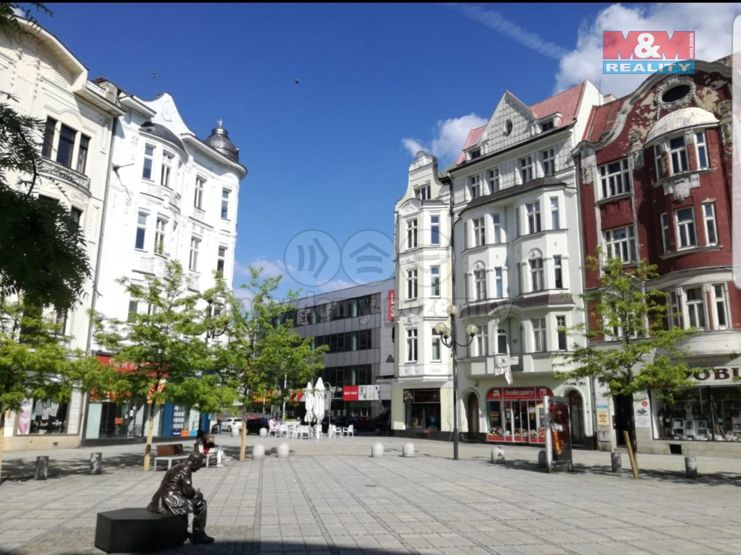 Pronájem, byt, 2+1, 50 m2, Ostrava, ul. Jiráskovo náměstí