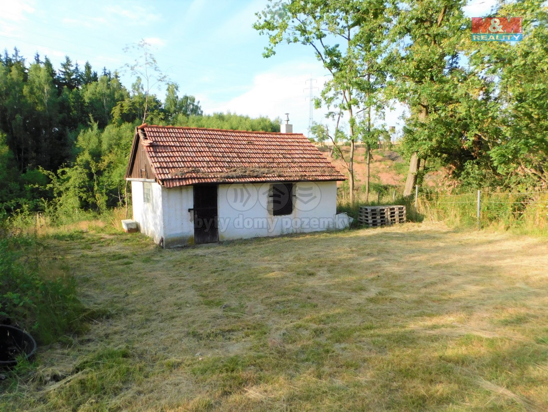 Prodej, chata, 1+1, 43 m2, Odrava, zahrada 887 m2
