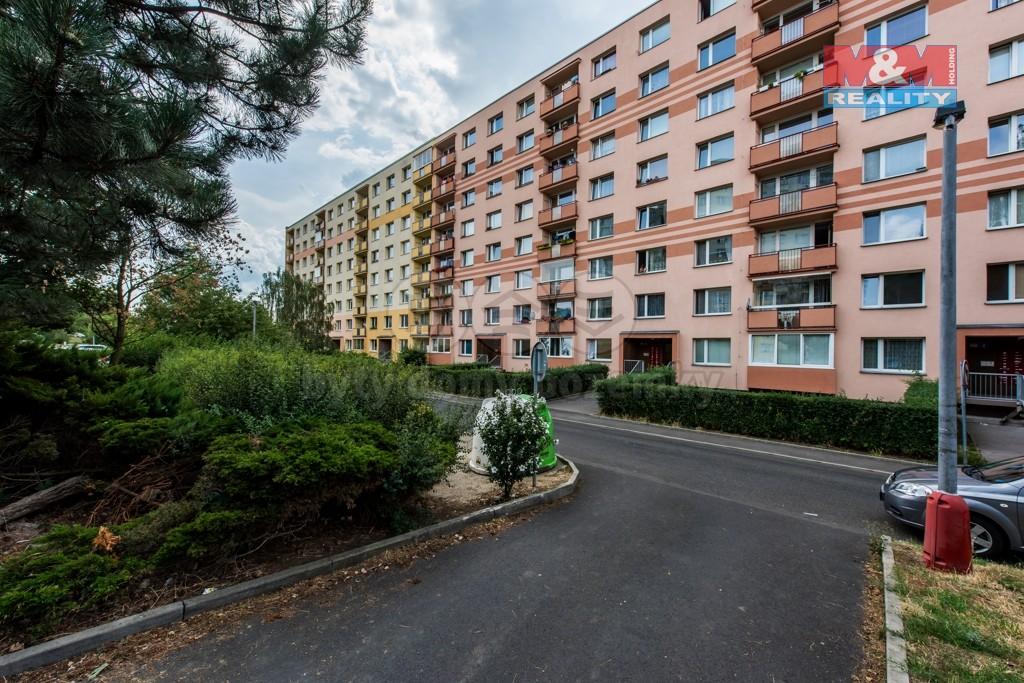 pohled na dům (Prodej, byt 2+1, 63 m², Ústí nad Labem, ul. Glennova), foto 1/18