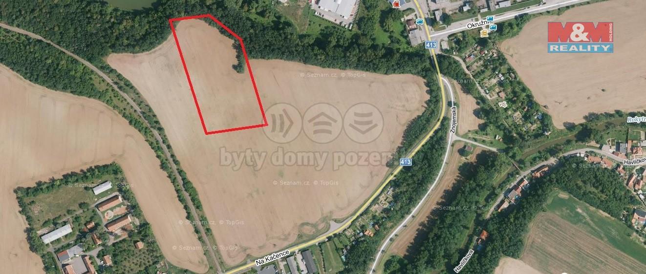 (Prodej, pole, 6655 m2, Moravský Krumlov), foto 1/3