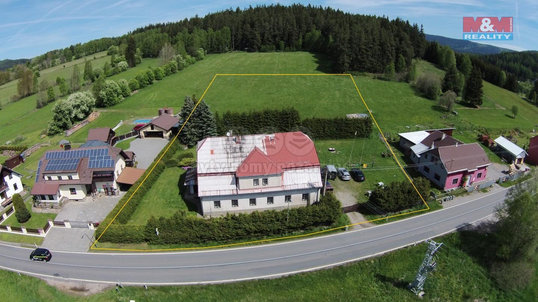 Prodej, chalupa 10+1, 4.033 m², Lenora - Hloužná