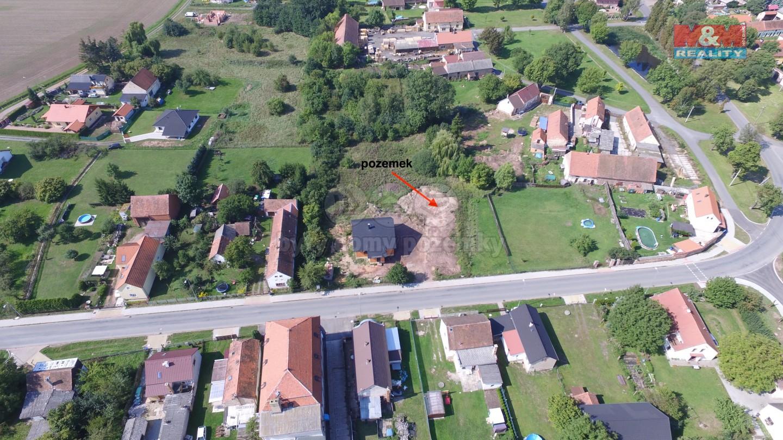 Prodej, stavební pozemek, 1051 m2, Přehýšov