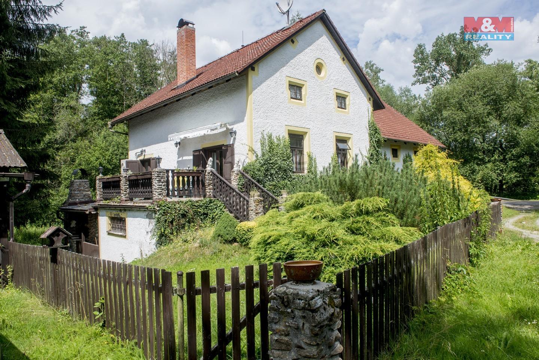 Prodej, chalupa 7+2, 1328 m2, Březina u Pelhřimova