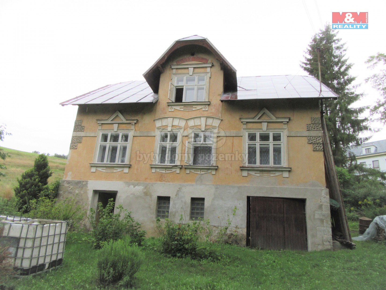 Prodej, rodinný dům 7+1, Rotava, ul. Příbramská