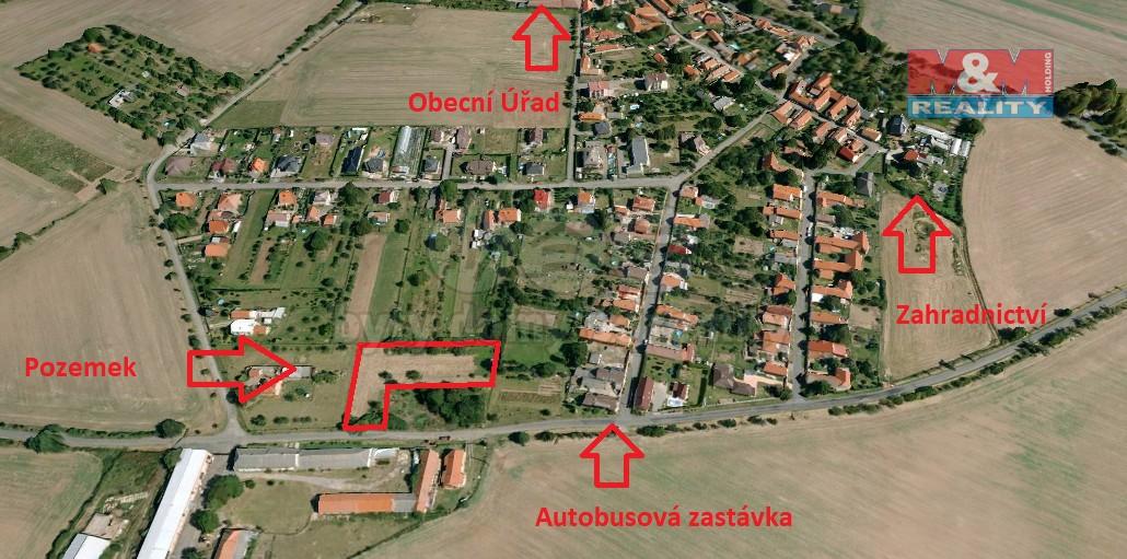 Prodej, pozemek určený k výstavbě, Třebovle 2594 m2