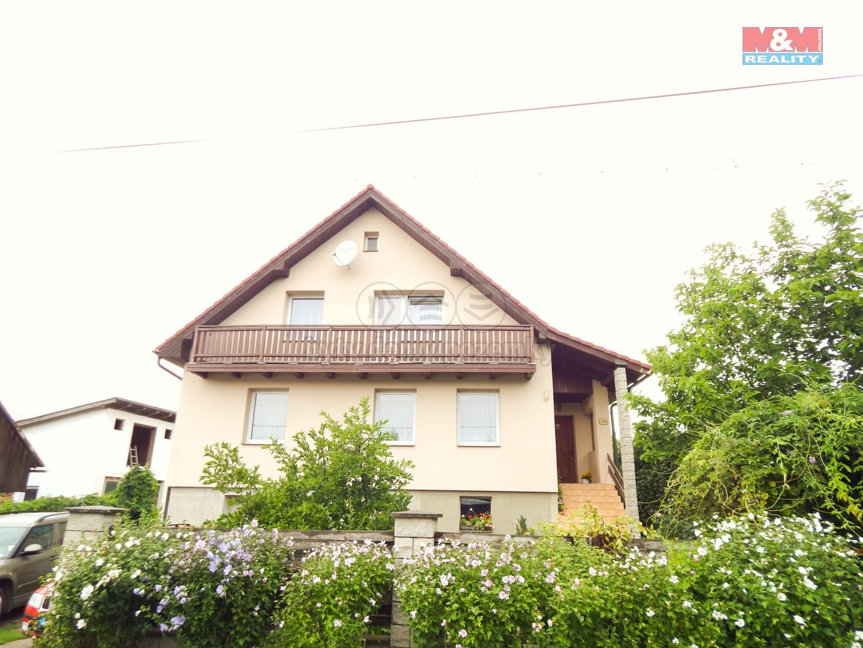 Přední pohled na dům