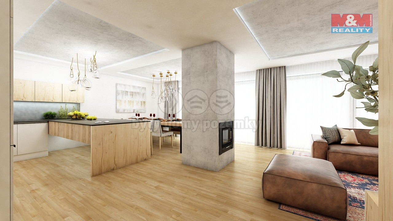 (Building lot, 1088 m2, Beroun, Králův Dvůr)