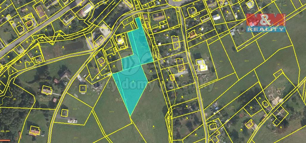 Prodej, pozemek, 5631 m2, Černa Voda