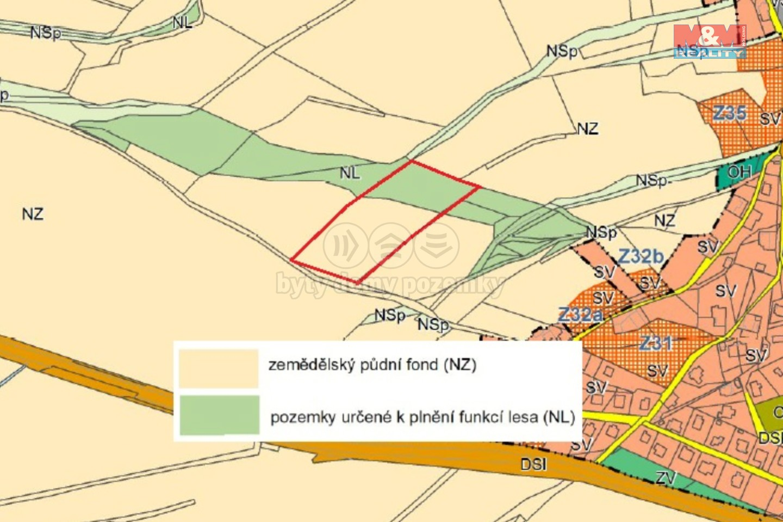 (Meadow, 11086 m2, Semily, Horní Branná)