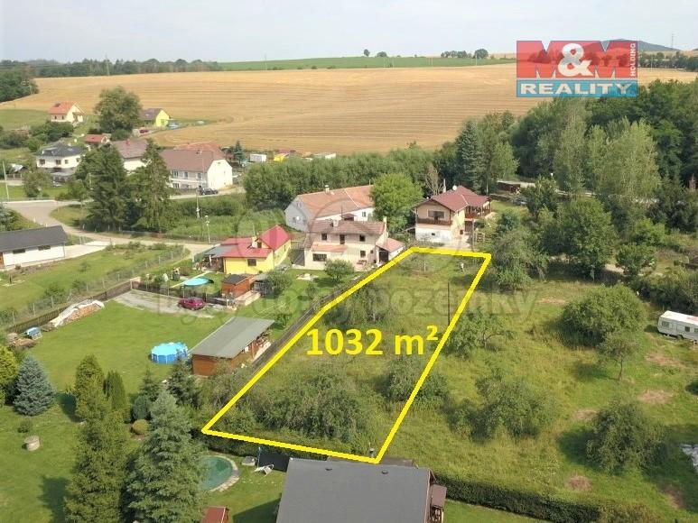 Prodej, stavební parcela, 1032 m², Benešov
