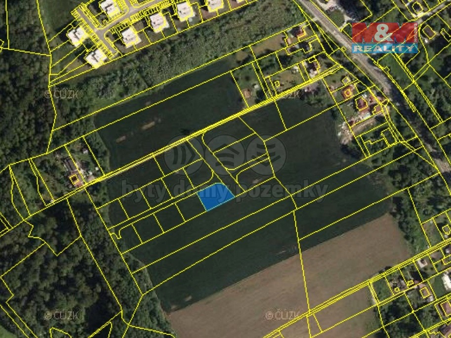 Prodej, pozemek, 906 m², Ostrava - Heřmanice