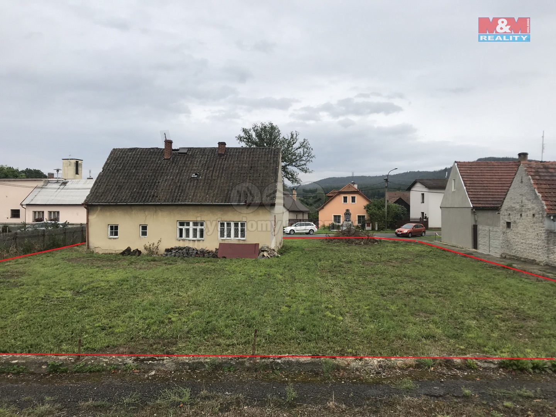 Prodej, pozemek určený k výstavbě, 1039 m2, Svojkovice.