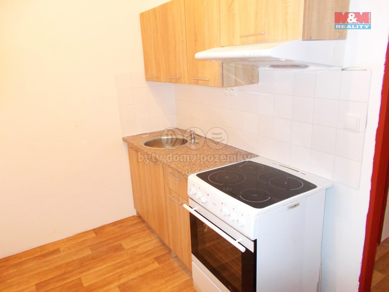 Pronájem, byt 1+kk, 25 m2, Nový Bor