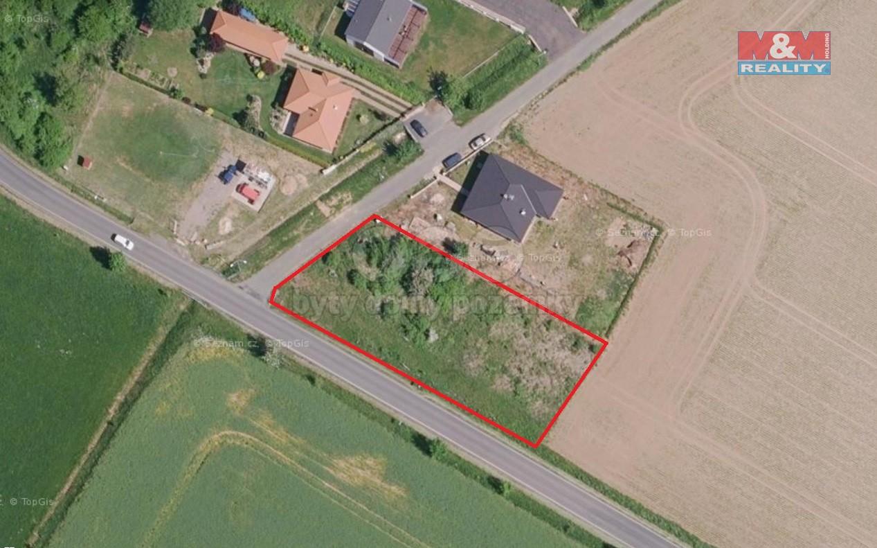 Prodej, stavební pozemek, Miskovice - Hořany