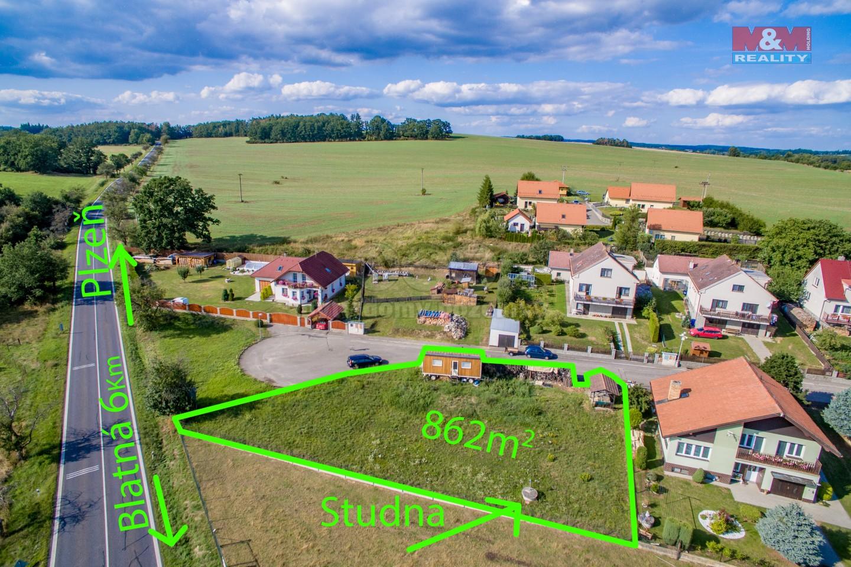 Prodej, pozemek, 862 m2, Tchořovice