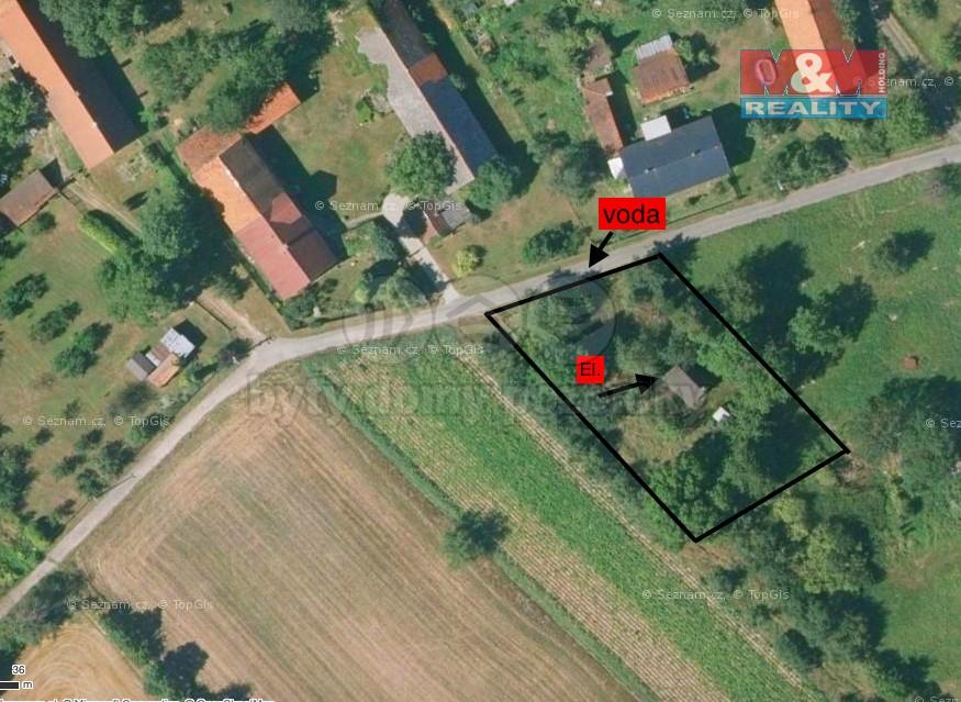 Prodej, chata, 1243 m², Petřvaldík