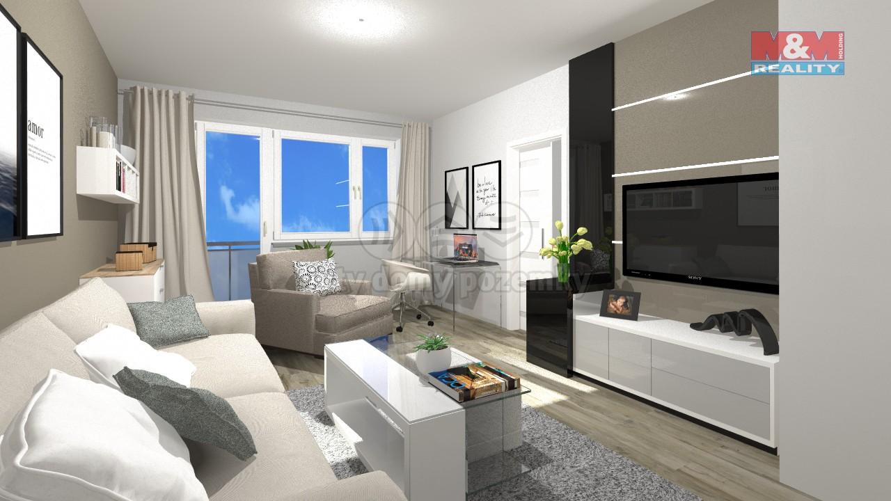 Prodej, byt 2+1, 55 m2, Orlová