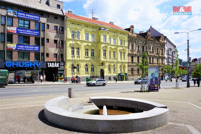 Prodej, nájemní dům, 1250 m², Plzeň, ul. Americká
