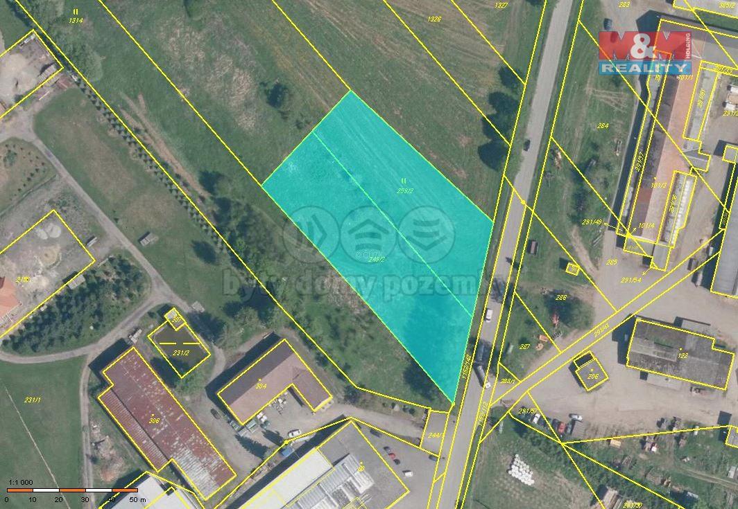 Prodej, pozemek, 5009 m2, Božejov