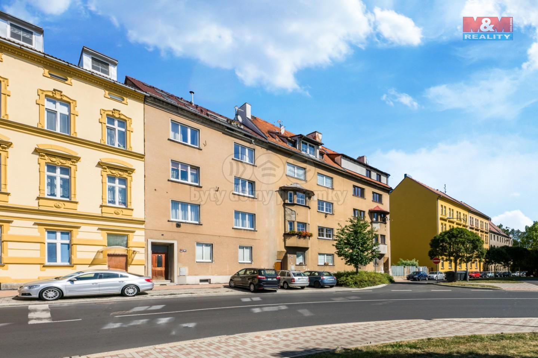 Prodej, atypický byt s terasou, 72m2, Cheb, ul. Dukelská