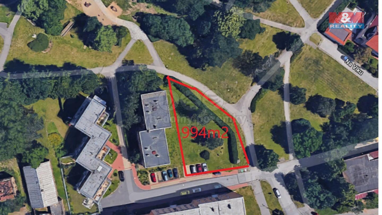 Prodej, stavební parcela a projekt, 994 m2, Praha - Stodůlky