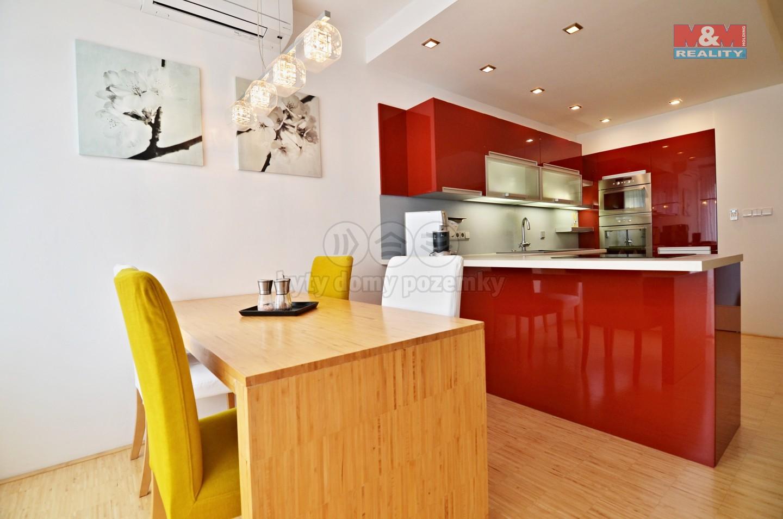 Prodej, byt 3+kk, 79 m2, Brno - Lesná, ul. Dusíkova