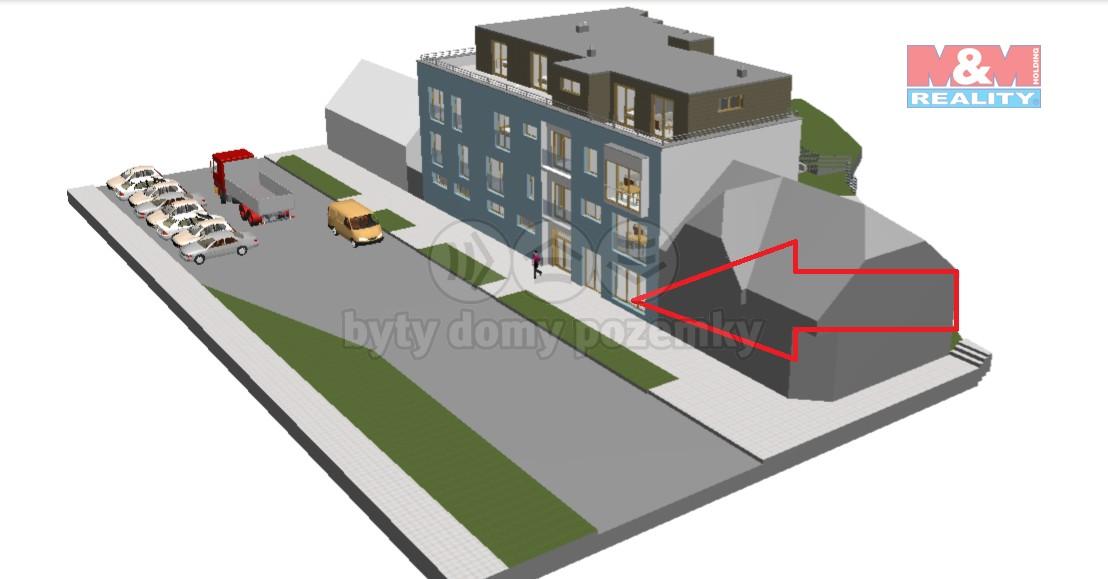 Prodej, obchodní prostory, 82 m2, Nýřany, ul. Benešova