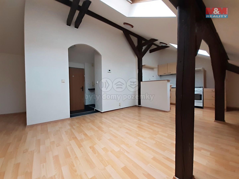 Pronájem, byt 2+kk 52 m2, Praha 3 - Žižkov, ul. Krásova