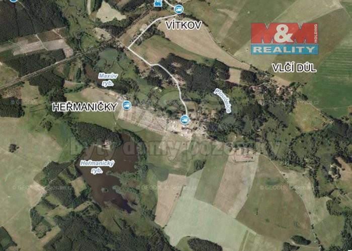 Prodej, stavební pozemek, 49012 m2, Česká Lípa - Heřmaničky