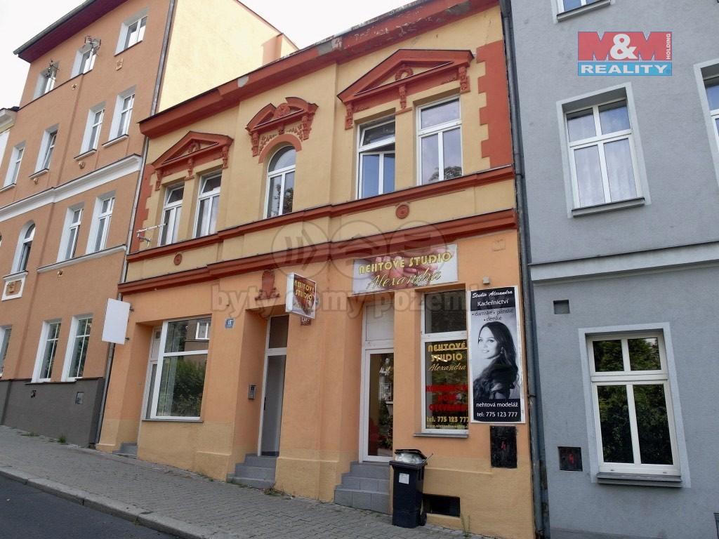 pohled na dům (Retail premises for rent, Ústí nad Labem)