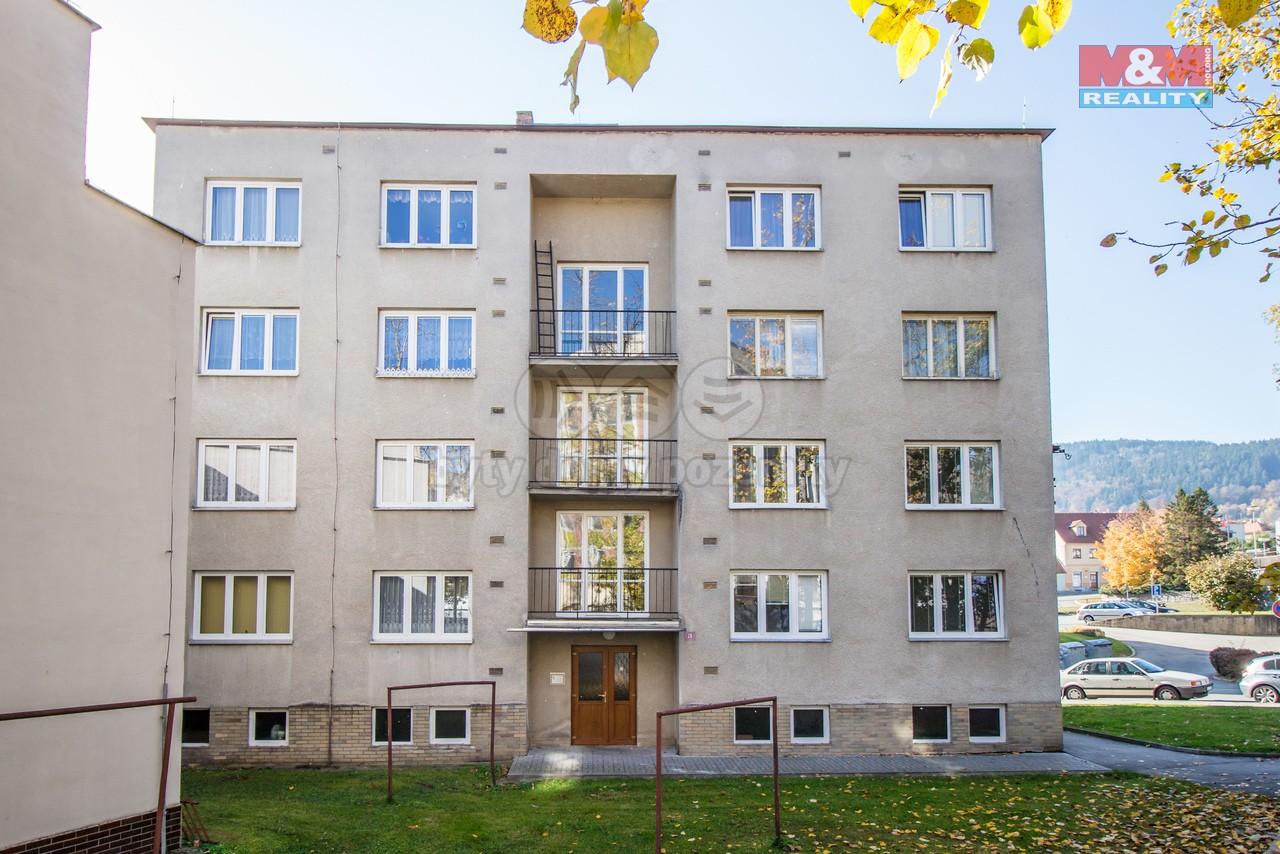 Prodej, byt 3+1, 65 m², OV, Prachatice, ul. Malé náměstí